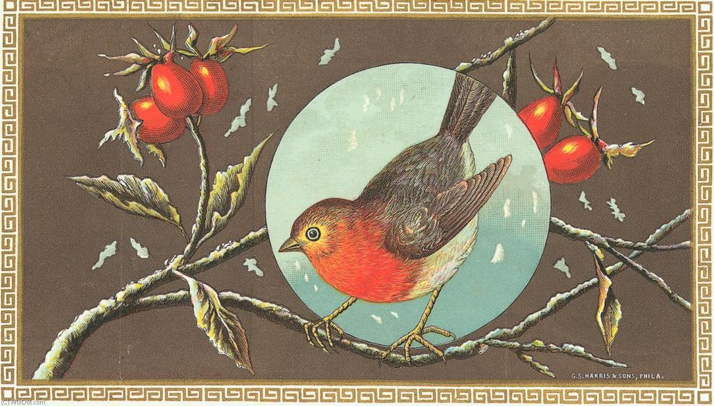 Открытка с птичками