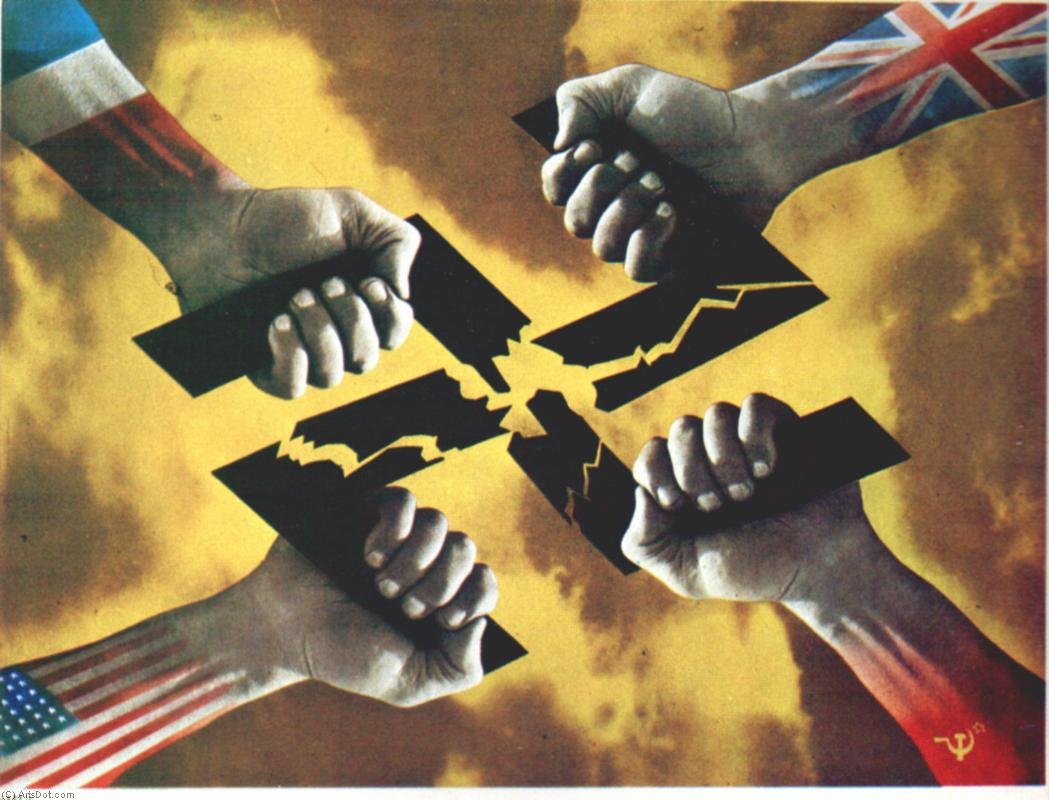 the propaganda of the allied powers and axis powers during world war ii