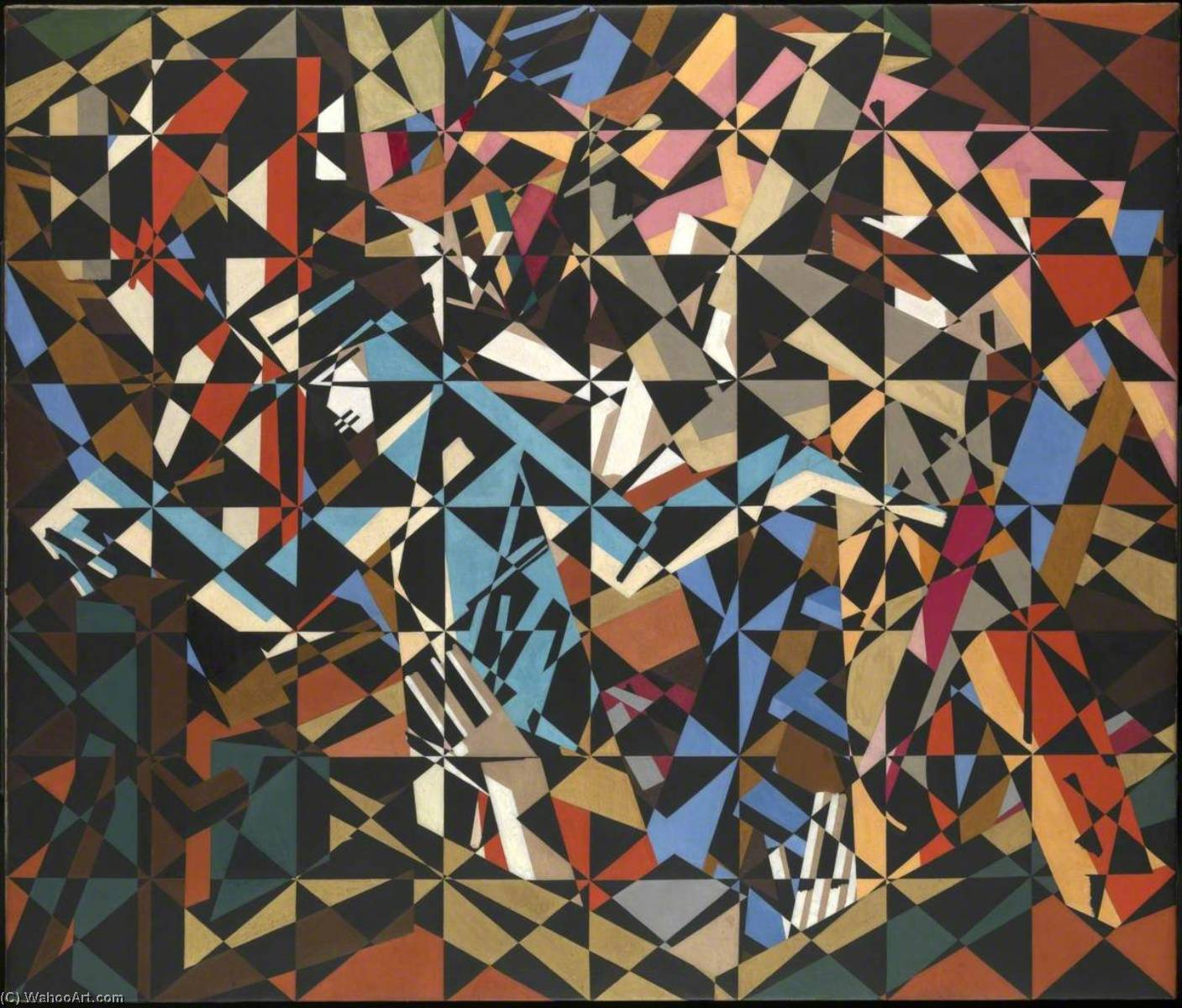 в держать  по David Garshen Bomberg (1890-1957, United Kingdom) | Репродукции Музея | ArtsDot.com