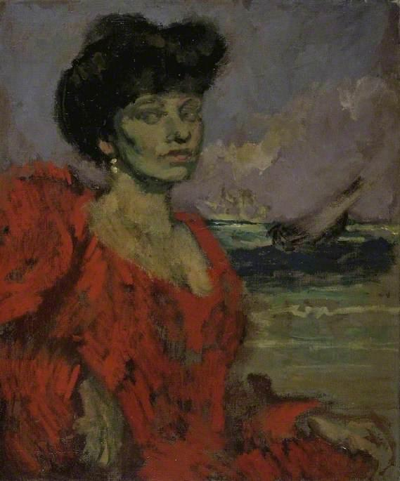 г жа Суинтон , 1906 по Walter Richard Sickert (1860-1942, Germany) | Картина Копия | ArtsDot.com